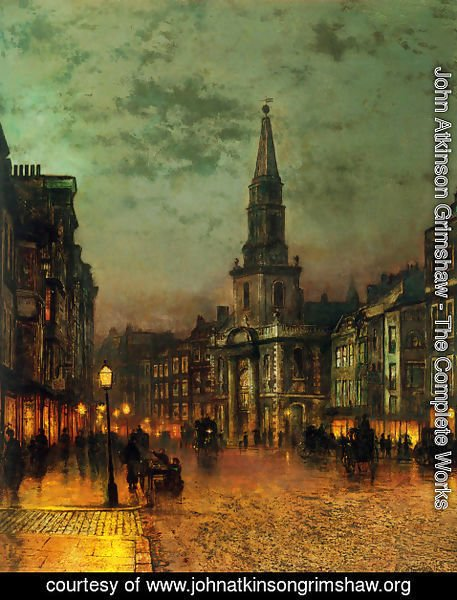 John Atkinson Grimshaw - Blackman Street, London