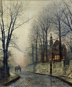 John Atkinson Grimshaw - November Moonlight