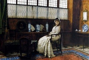 John Atkinson Grimshaw - The Cradle Song