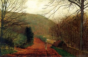 John Atkinson Grimshaw - Forge Valley, Scarborough