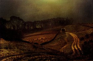 John Atkinson Grimshaw - Under The Harvest Moon