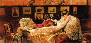 John Atkinson Grimshaw - Day Dreams
