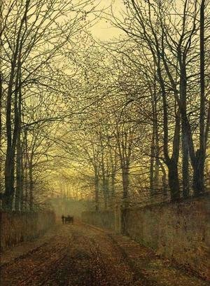 John Atkinson Grimshaw - October Gold