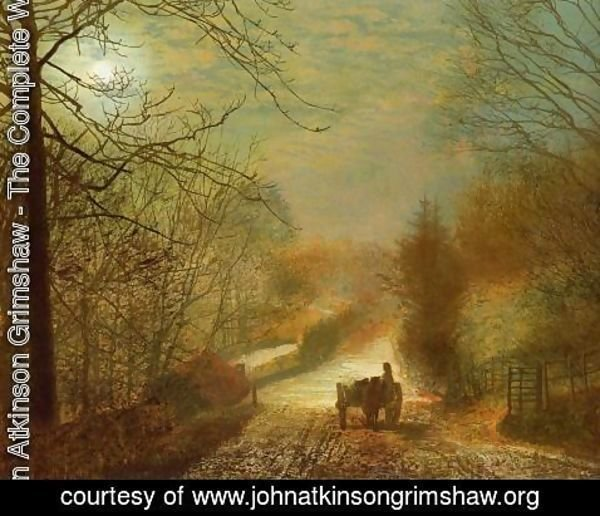 John Atkinson Grimshaw - Forge Valley, near Scarborough