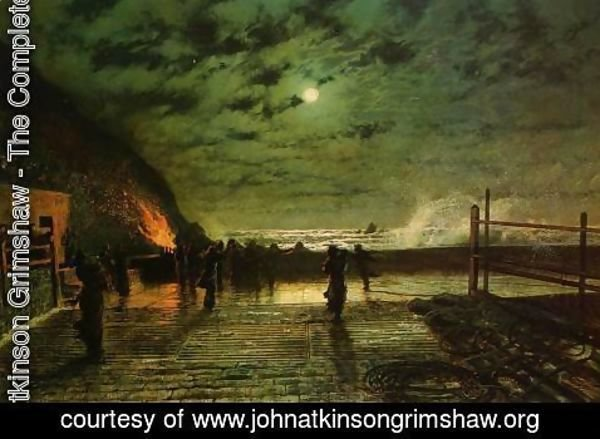 John Atkinson Grimshaw - In Peril