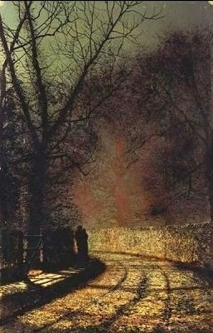 John Atkinson Grimshaw - The Lovers I