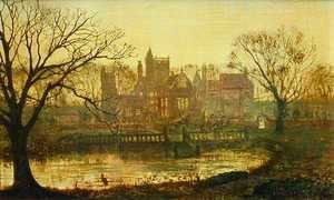 John Atkinson Grimshaw - The Moated Grange