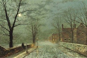 John Atkinson Grimshaw - Bonchurch, The Isle of Wight