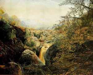 John Atkinson Grimshaw - Colwith Force