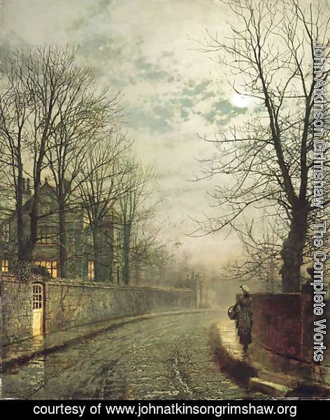 John Atkinson Grimshaw - Fifty years ago
