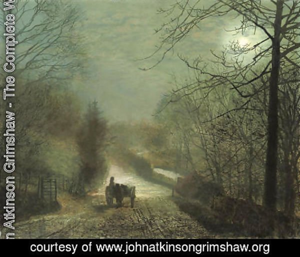 John Atkinson Grimshaw - Forge Valley, near Scarborough 2