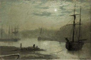 John Atkinson Grimshaw - On the Esk, Whitby 2