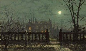 John Atkinson Grimshaw - Waiting