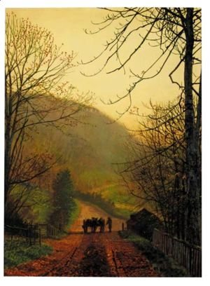 John Atkinson Grimshaw - Forge Valley Near Scarborough