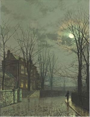 A Street By Moonlight