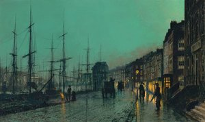 John Atkinson Grimshaw - On The Clyde