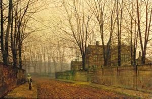 John Atkinson Grimshaw - Late October At Ritson