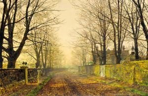 John Atkinson Grimshaw - Golden Eve