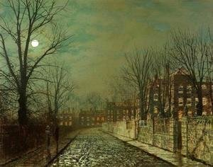 John Atkinson Grimshaw - The Trysting Tree
