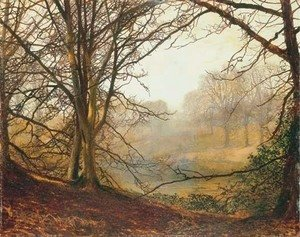 John Atkinson Grimshaw - Evening effect