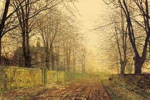 John Atkinson Grimshaw - The Sere and Yellow Leaf