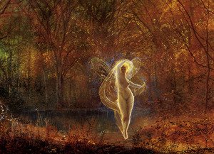 John Atkinson Grimshaw - Dame Autumn has a mournful face