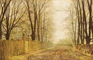 John Atkinson Grimshaw - Golden Eve 2