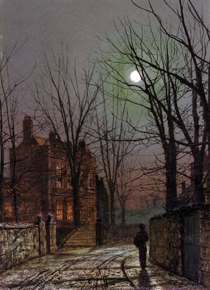 John Atkinson Grimshaw - Moonlight